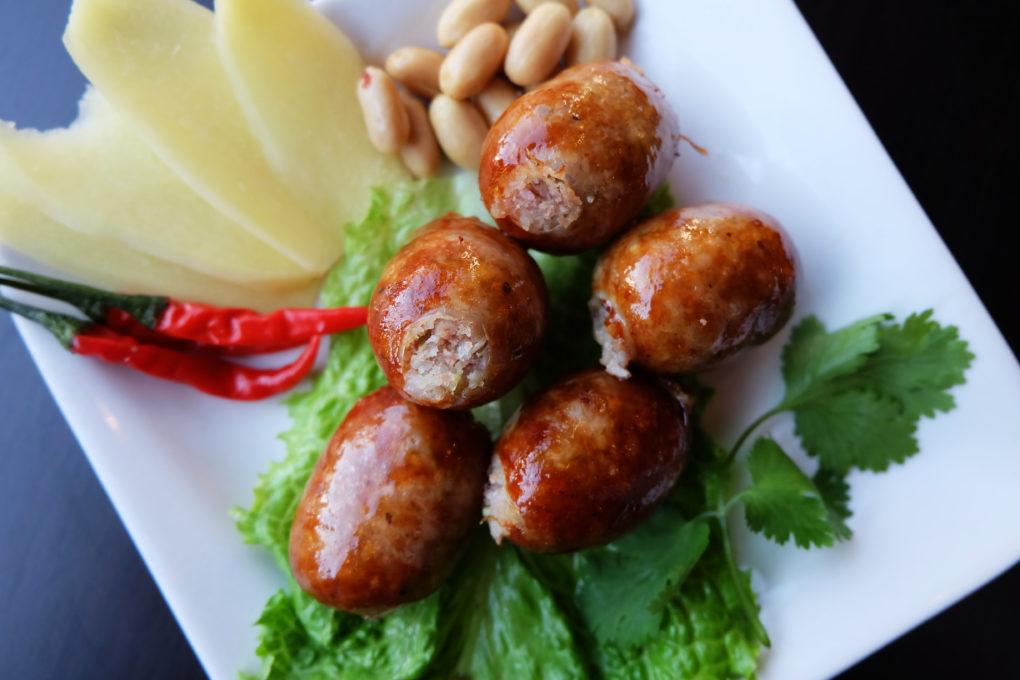 Sausage Thai Starter Dish
