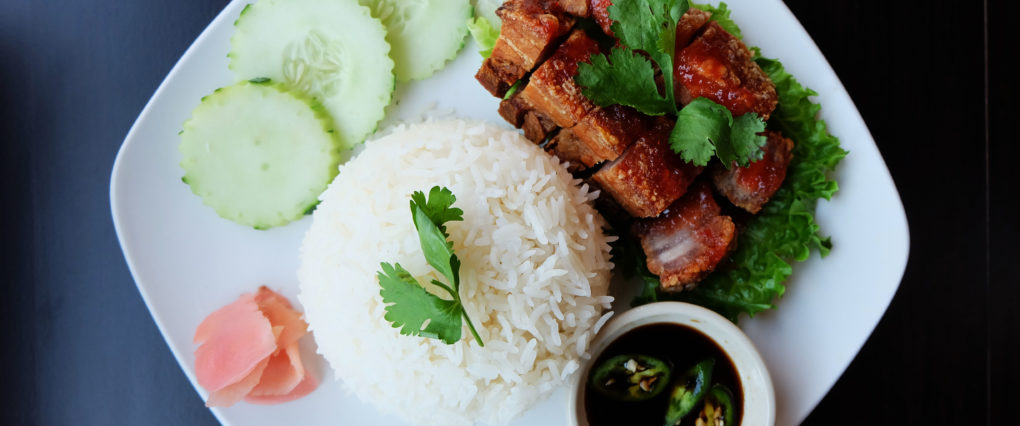Crispy Pork Belly Rice