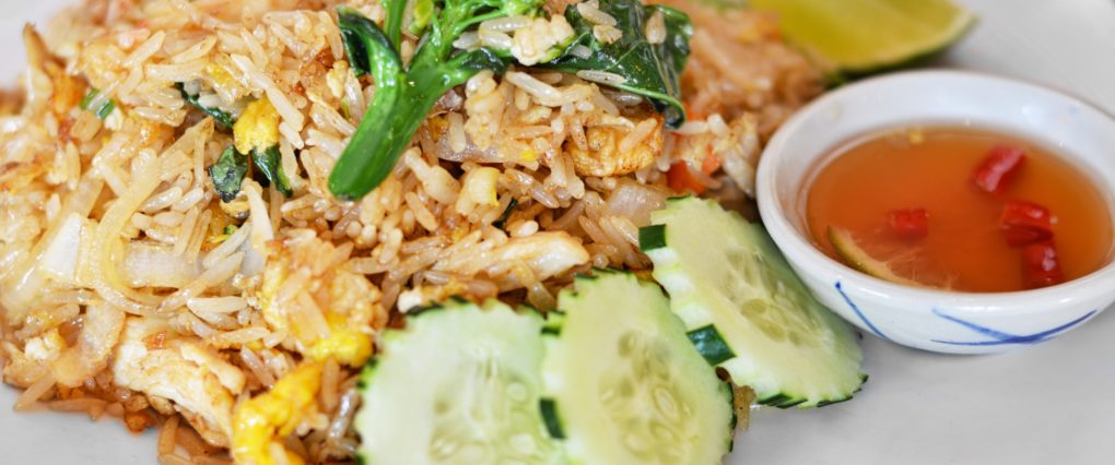 Fried Rice Thai Dish