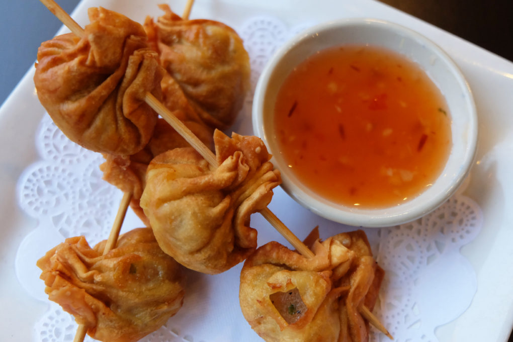 Thai Fried Wontons in Shrimp