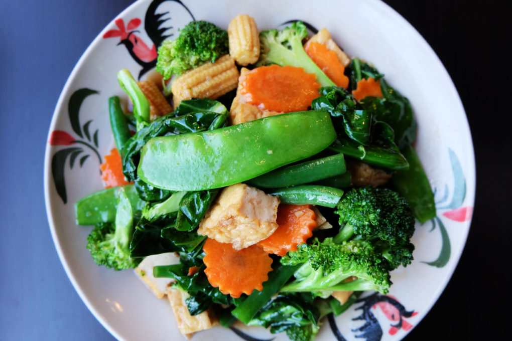 Thai Stir-Fried Mixed Vegtables