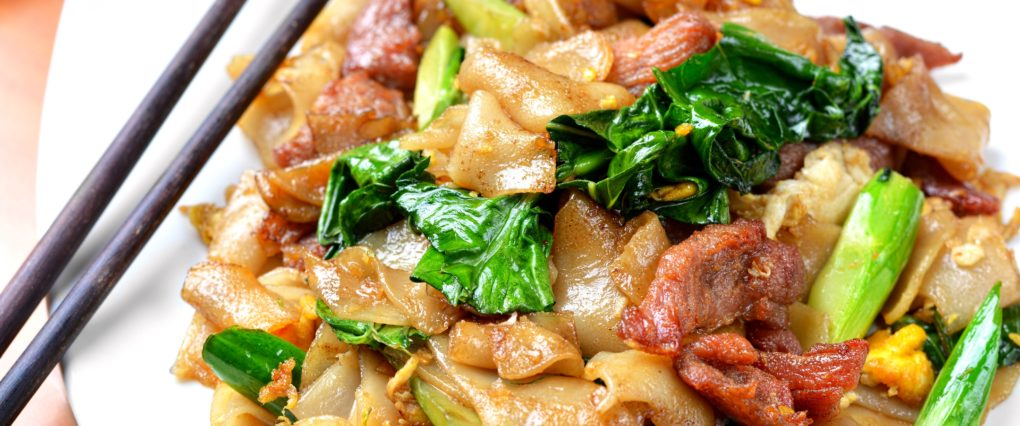 Pad See Eew Thai Noodles