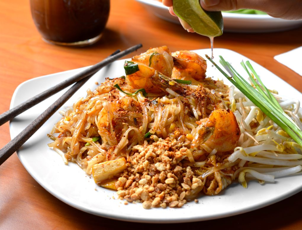 Pad Thai Meal at Immm Chicago