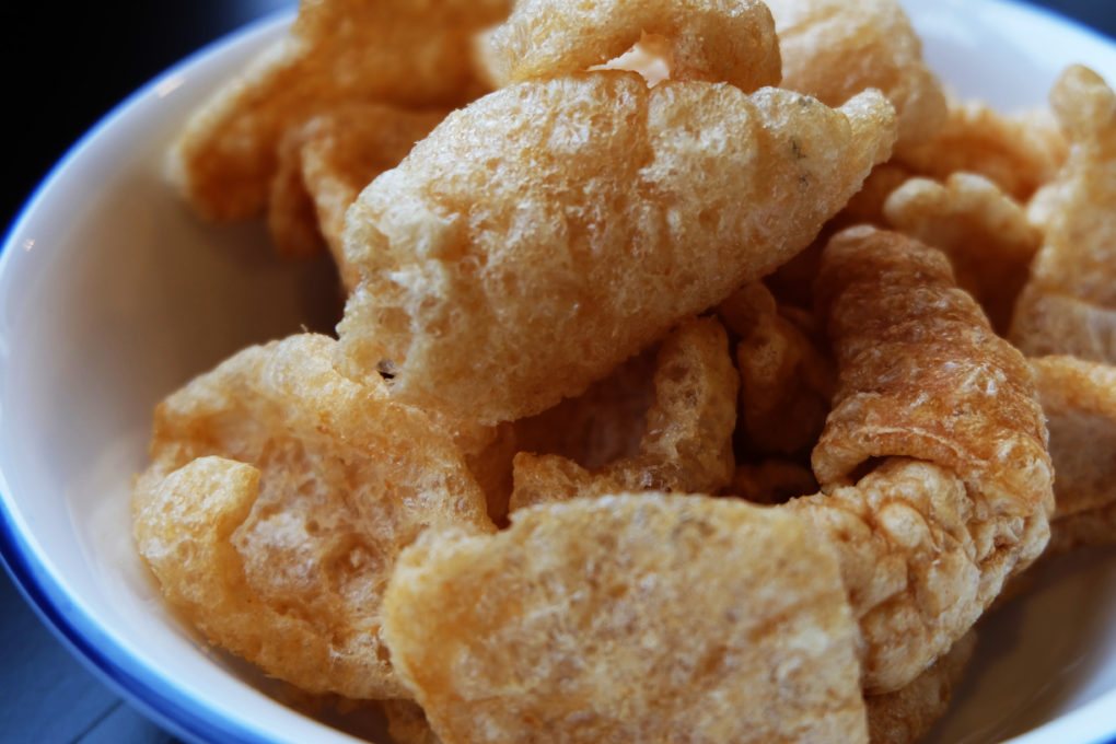 Pork Crackling Thai Appetizer