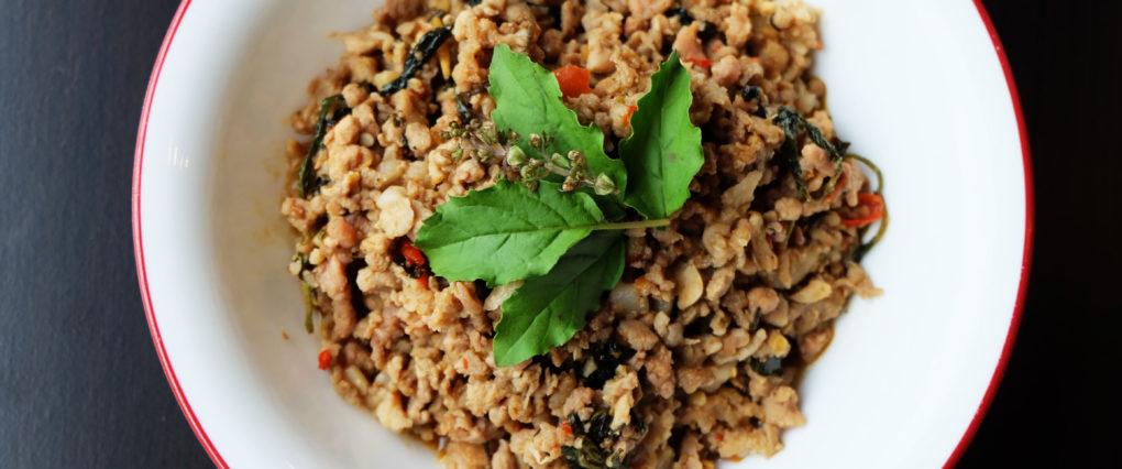 Pad Kra Pao Holy Basil Dish