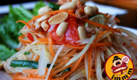 Thai Salad with Peanuts & Dried Shrimp